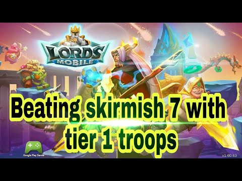 Beating Skirmish 7 With Tier 1 Troops
