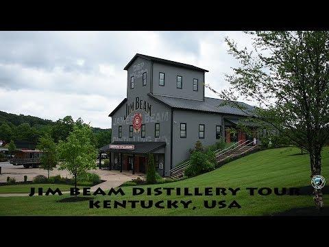 Jim Beam Distillery Tour   Bourbon   Kentucky   2018   USA
