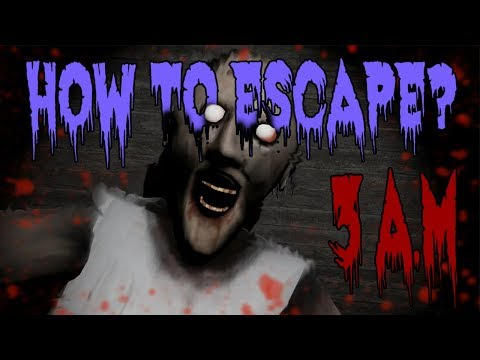 PLAYING GRANNY HORROR GAME AT 3 AM [GONE WRONG]