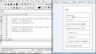 #03 Java - Der größte gemeinsame Teiler in der Konsole