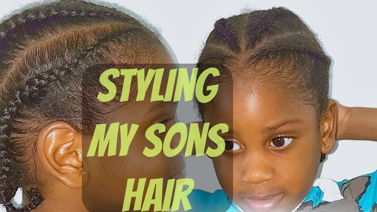 Braids For Toddler Boys Styling My Son S Natural Hair