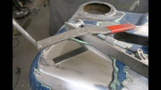 How to do metal finishing, Dent flipping. Tips and Tricks #3
