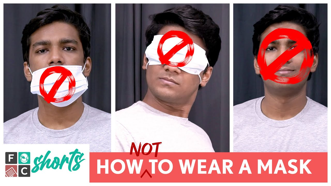 FilterCopy Shorts   How Not To Wear A Mask   @Manish Kharage   #Shorts