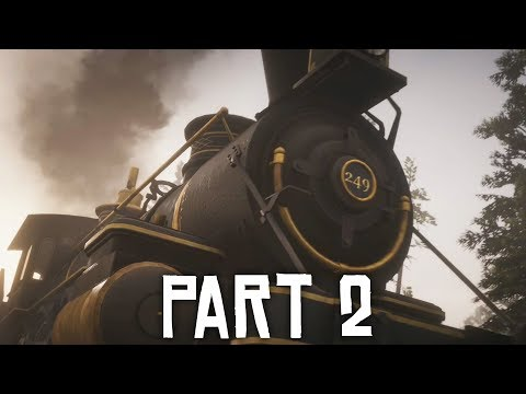 Red Dead Redemption 2 Gameplay Walkthrough Part 2 - TRAIN ROBBERY (Full Game)
