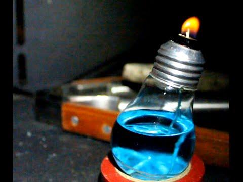 Lampadina lanterna ad olio fai da te youtube - Stufe fai da te ...