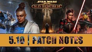 SWTOR 5.10 Jedi Under Siege - Changes Overview