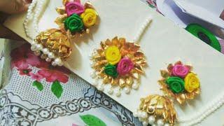 Gota Jewellery Making Tutorial Part 3 | Bridal Gota jewellery series | Diy Wedding Jewellery