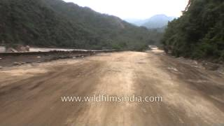 Travelling to Tilwara from Silli after flash flood in Uttarakhand
