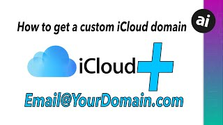 How to Use A CUŠTOM Domain in iCloud!