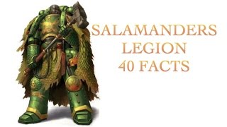 40 Facts and Lore about the Salamanders Legion Warhammer 40k