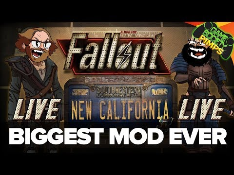Fallout New California LIVE! - Amazing New Vegas Mod!