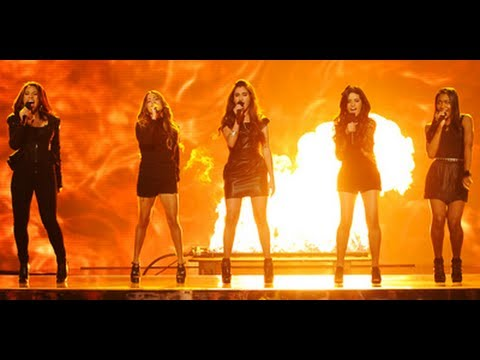 Fifth Harmony Stronger - Live Week 5 - The X Factor USA 2012