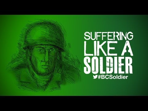 Weekly Message  - Succeeding On God's Team - Kevin Bailey - Suffering Like A Soldier