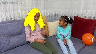 Esma and Asya fun kid video 157