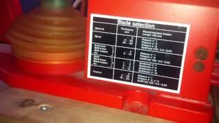 Hegner Multicut 1 Variable Speed
