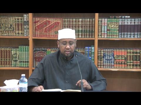 Somali Halaqah Jan 12/2019