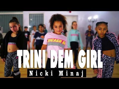 Nicki Minaj - Trini Dem Girls | Kids Street Dance | Choreography Sabrina Lonis
