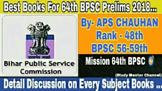Best Books For 64th BPSC Prelims Exam ...