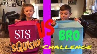 SQUISHY Food vs REAL Food Challenge! Sis and Bro! Crazy Soft or Extra Yummy?