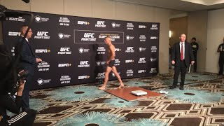 UFC Brooklyn Official Weigh ins live stream thumbnail