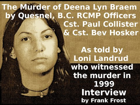 RCMP Murder Exposed Again! Frank Frost interview with Lonnie Landrud