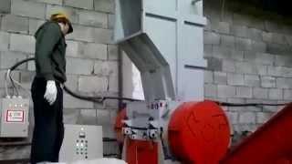 АТЛАСМАШ: Дробилка пластмасс ИПРМ 42/60 дробление стрейч-пленки(, 2014-06-27T19:06:01.000Z)