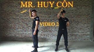 Mr. Huy Côn [Video 2] Những động tác khởi động với côn nhị khúc và quay côn nhị khúc số 0