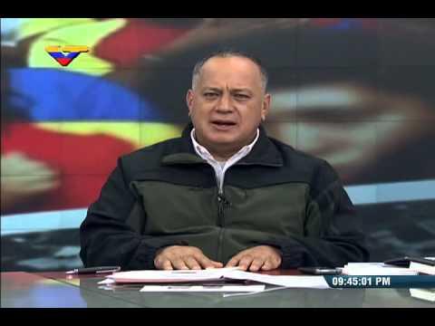 Jorge Rodríguez y Diosdado Cabello, programa especial 13 febrero 2015 golpe estado abortado