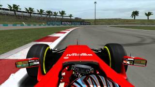 Grand Prix 4 - 2015 - Kimi Räikkonen - Sepang International Circuit - Onboard Lap