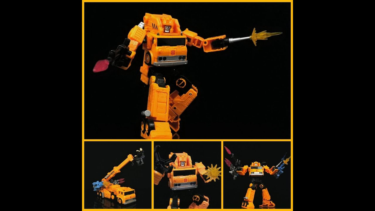 What's New in Transformers? Hasbro's WFC Earthrise Grapple Review by Deluxe Baldwin