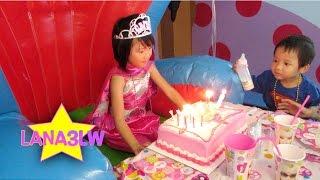 Kids Birthday Party Cake Wish - Lana3LW