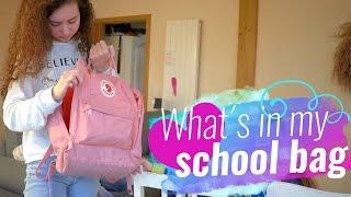 What´s in my school bag / TeaTime with Marleen #4 MAGIXTHING