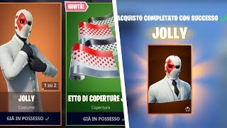 FORTNITE-THE SKIN PIÙ BELLA DI SEMPRE-JOLLY SET