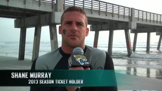 Jacksonville Jaguars - The making of 'I Am Section' video Campaign