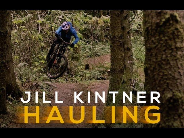 HAULING: Jill Kintner Rips Her Home Trails