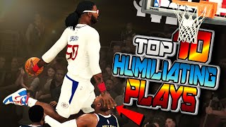 TOP 10 RUDE & HUMILIATING Plays Of The Week #51 - NBA 2K20 Ankle Breakers, Posterizers & More