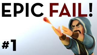"Clash of Clans ""Epic Fail!"" Series #1"