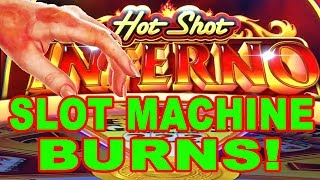 MY HAND IS STILL BURNING FROM PLAYING THIS! ★ NEW!! HOT SHOT INFERNO ➜ COSMOPOLITAN LAS VEGAS