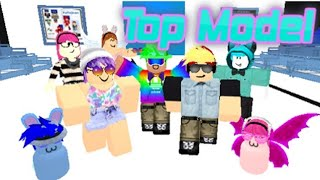 Roblox Top Model (com Maddie Kingken Cloudboy e Audi) [parte 1] County e silly