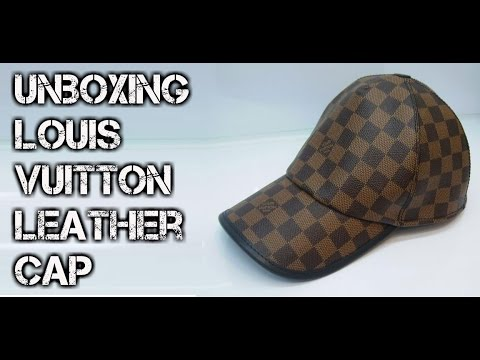 a663d77bbf4 Unboxing Louis Vuitton Leather Cap  Taobao   TimTao  - YouTube