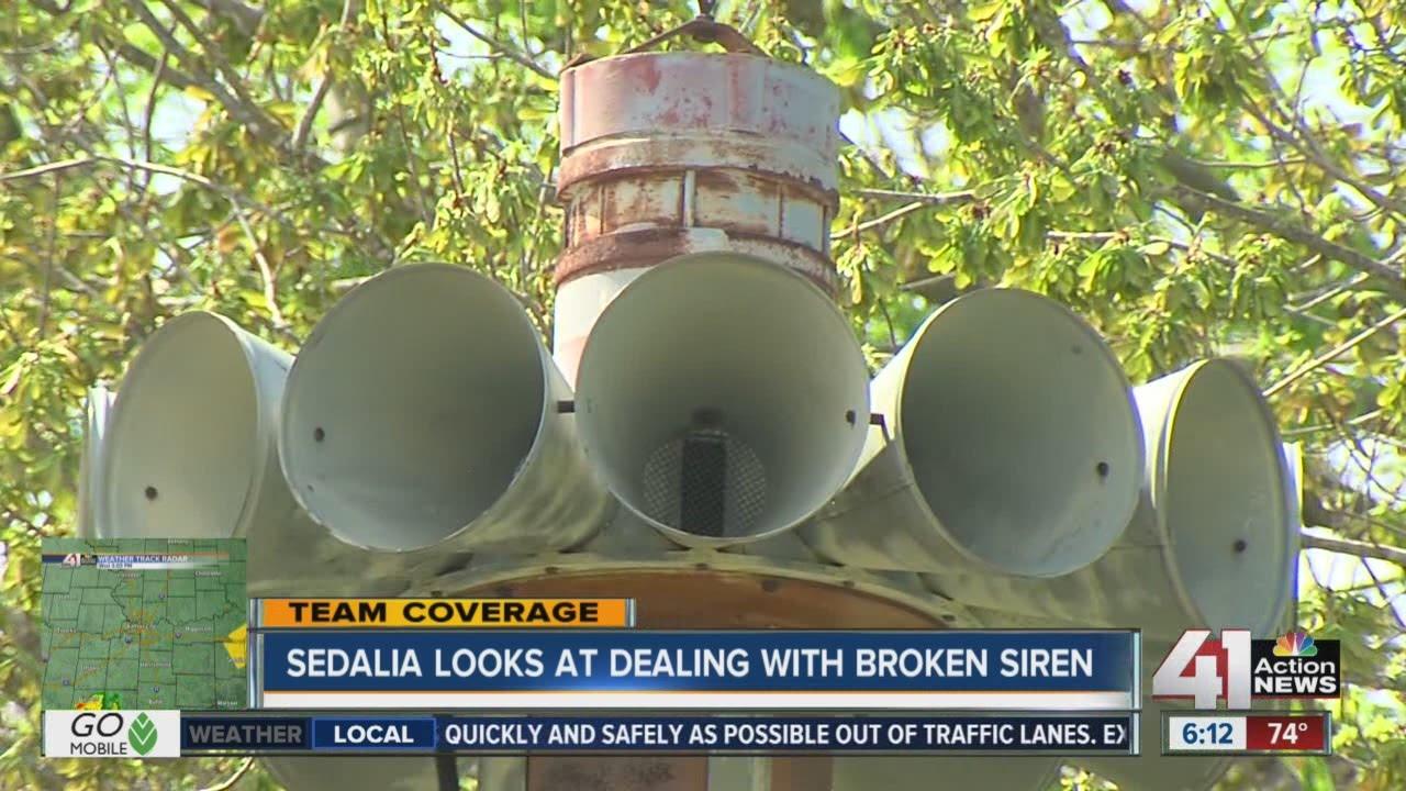 Sedalia having siren troubles as severe weather season begins