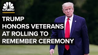 Trump Honors Veterans At Memorial Day 'rolling To Remember' Ceremony — 5/22/2020