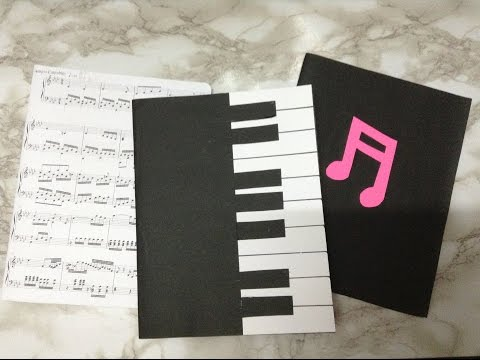 DIY Music Notebooks SUPER EASY
