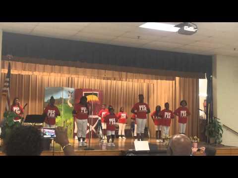 Parkway Elementary School Step Team 2015 play