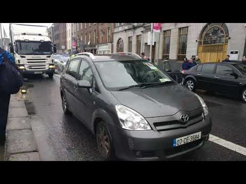 Crash following police chase in Dublin city centre