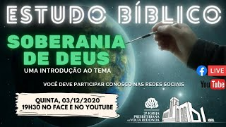 ???? Live Estudo Bíblico 03/12/2020