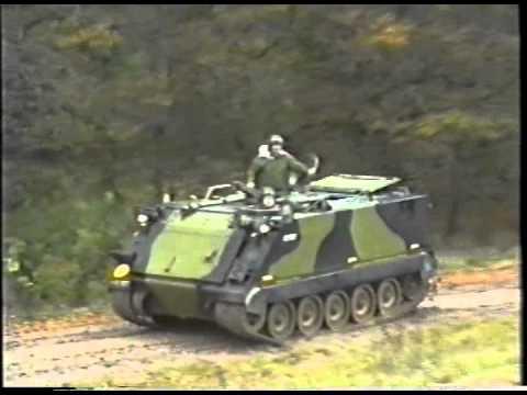 M113A1 APC Testdrive after maintenance