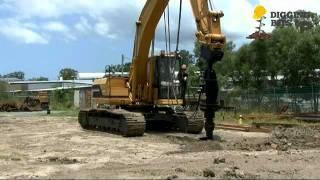 Multi-Speed Digga Auger Drive Unit - Suite Excavators