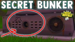 WHAT IS THE SECRET BUNKER IN WAILING WOODS - Fortnite Battle Royale Easter Egg