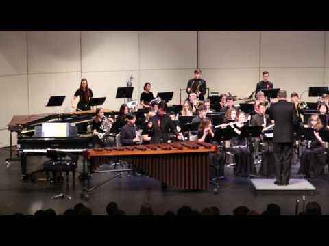 Concerto No. 1 for Marimba, Wind Ensemble, Soloist Verli Chen
